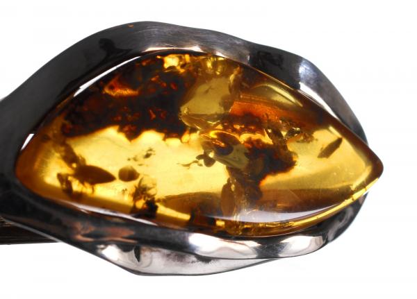 Brățară din Argint cu Chihlimbar 2