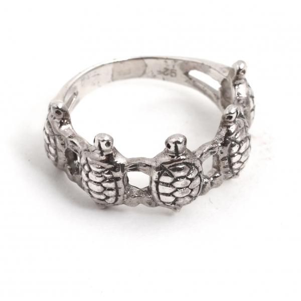 Inel din Argint Broscuțe Ţestoase 0