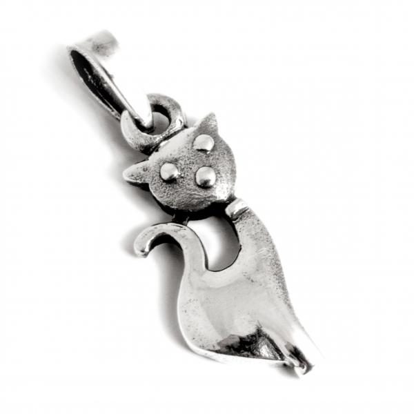 Pandantiv din Argint Pisică 0