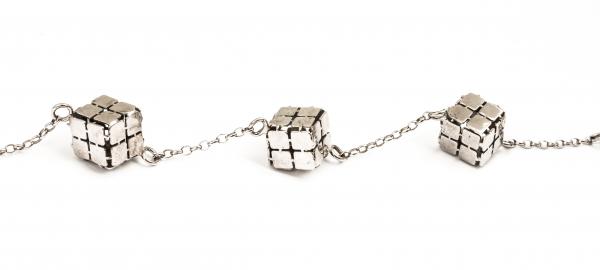 Brățară din Argint Cuburi 0