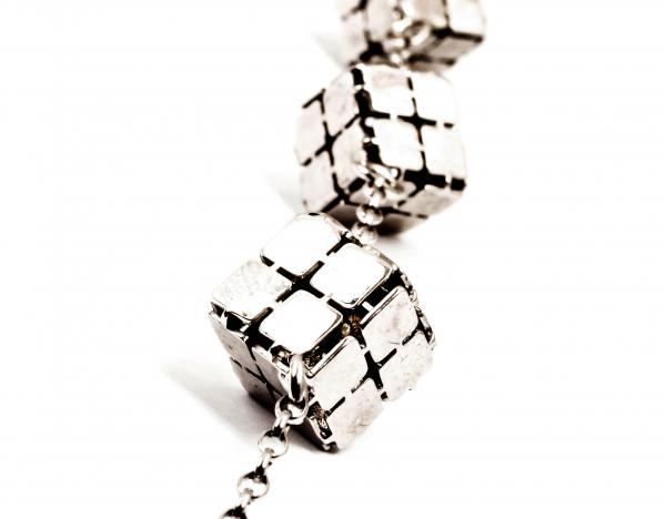 Brățară din Argint Cuburi 1