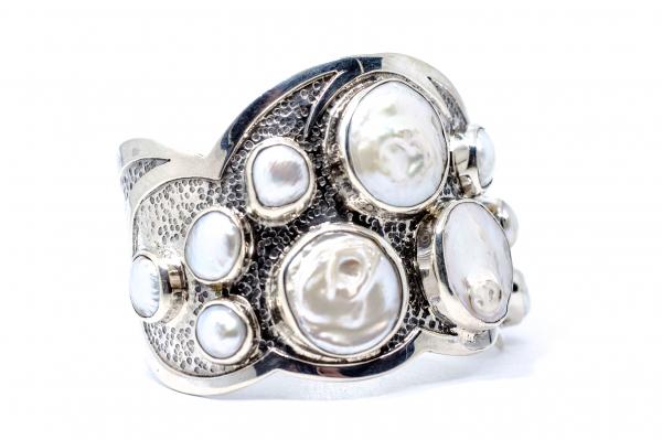 Bratara din Argint  Catusa cu  Perla 1