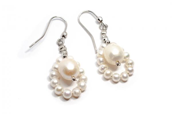 Cercei cu Perle și Argint [0]