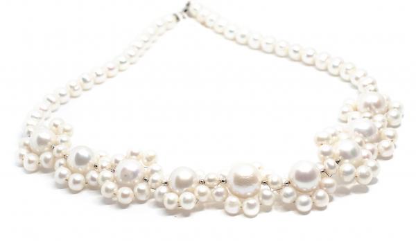 Colier Creatie din Perle cu Argint 0