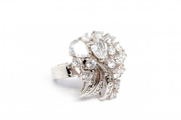 Inel din Argint cu Zirconiu 0