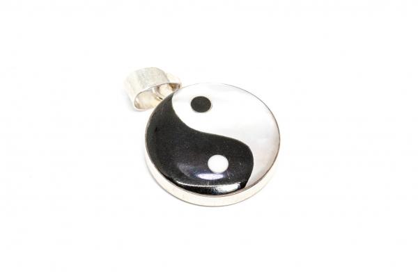 Pandantiv Yng și Yang cu Sidef si Argint [1]