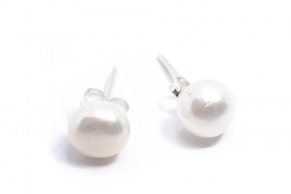 Cercei Perle de Cultură Din Argint 0
