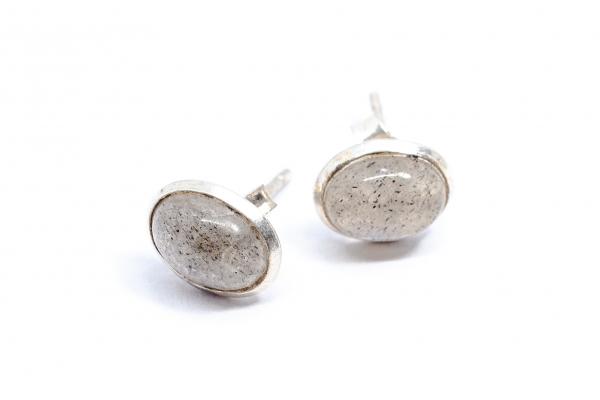 Cercei Labradorit  şi Argint 1