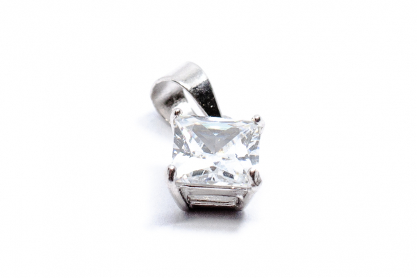 Pandantiv din Argint cu Zirconiu 0