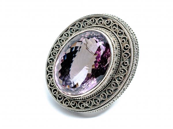 Inel din Argint cu Ametist 0