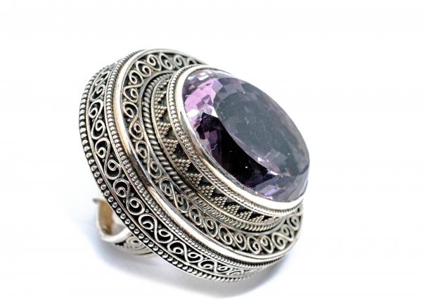 Inel din Argint cu Ametist 1