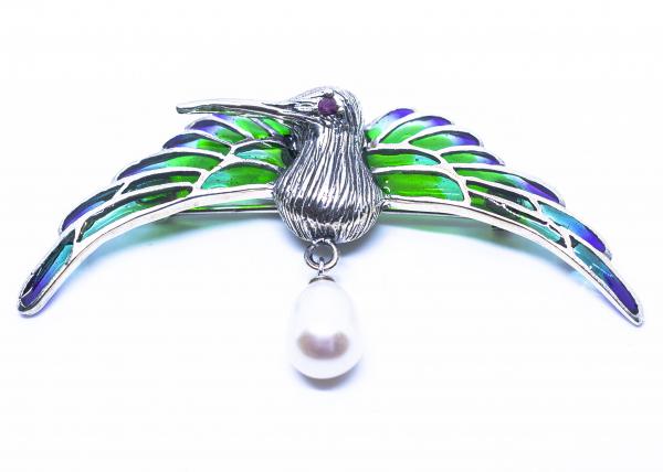 Brosa Colibri Perla 0