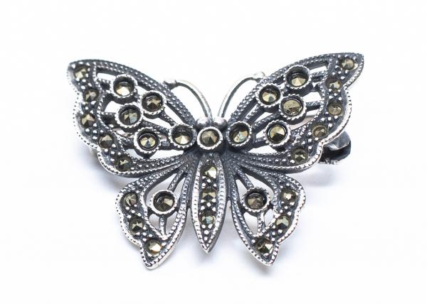Brosa Fluture Marcasite 0
