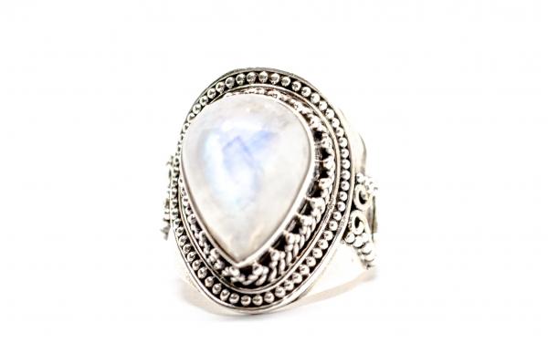 Inel din Argint cu Piatra Lunii 0