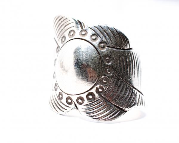 Inel din Argint Reglabil 1