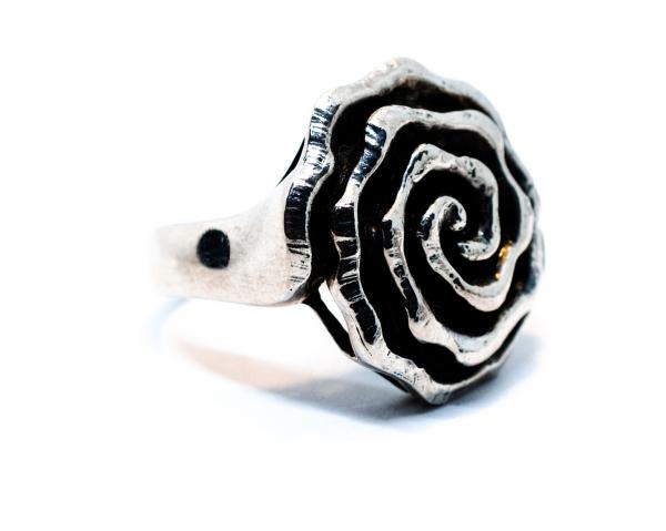 Inel din Argint Trandafir 0