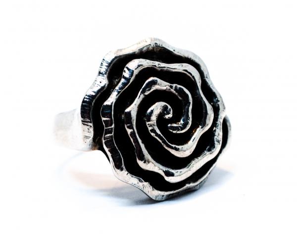 Inel din Argint Trandafir 1