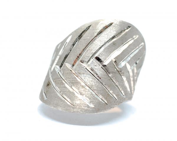 Inel din Argint Zirconat 0