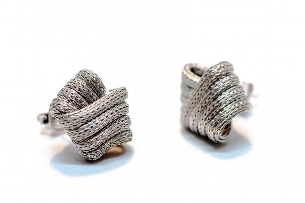 Cercei Argint Nod 1
