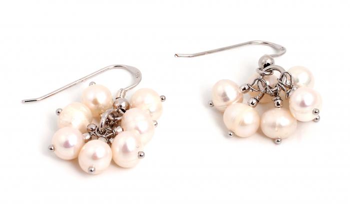 Cercei Creatie cu Perle de Cultura si Argint [0]