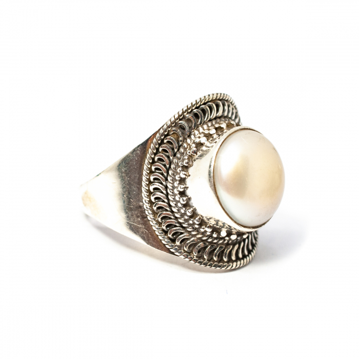 Inel din Argint cu Perla [0]