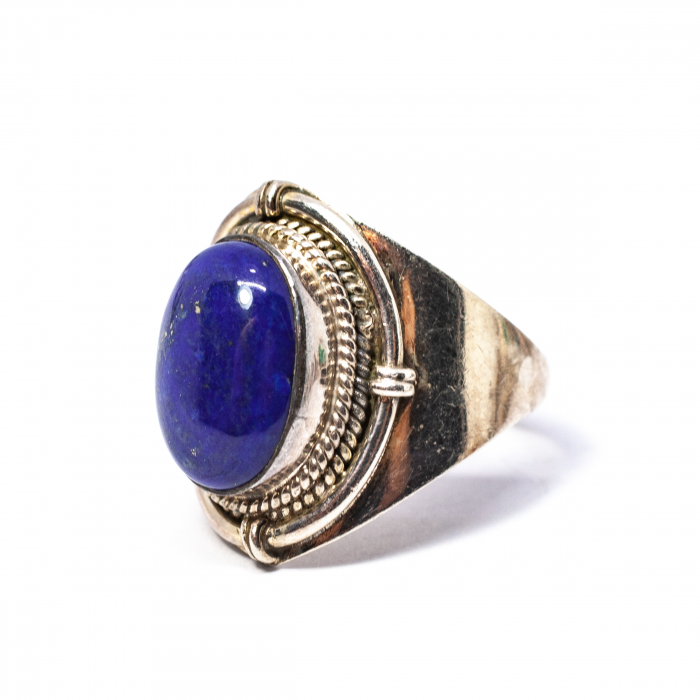 Inel din Argint cu Lapis Lazuli [0]