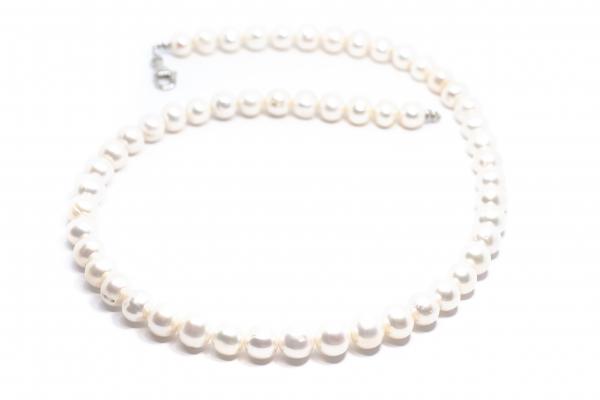Colier Creatie cu Perle de Cultura si Argint [0]