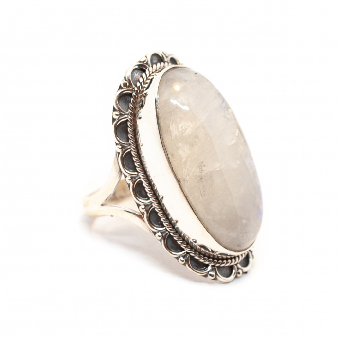 Inel din Argint cu Piatra Lunii [0]