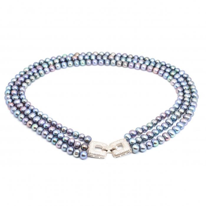 Colier Creatie cu Perle si Argint [0]