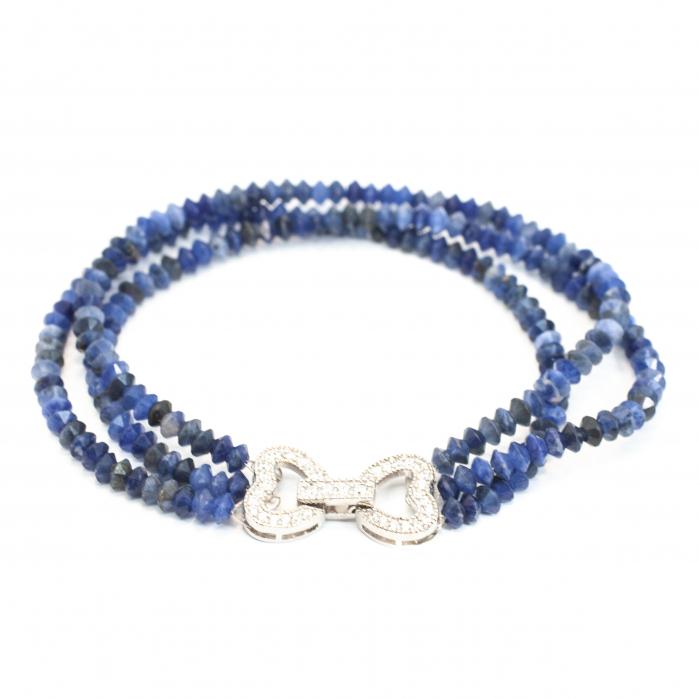 Bratara Creatie cu Lapis Lazuli si Argint [0]