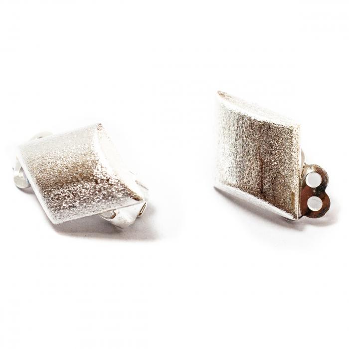 Cercei Clips Sidefati din Argint [0]