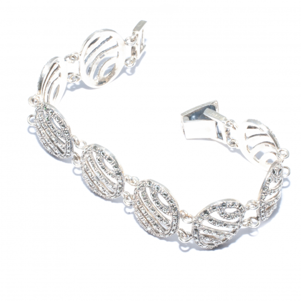 Bratara din Argint cu Marcasite 1