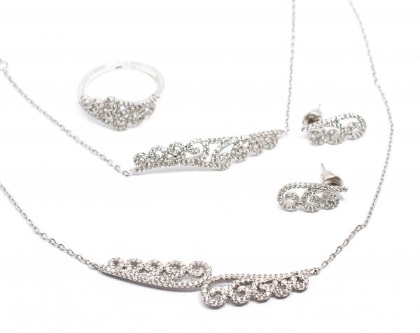 Set din Argint cu Zirconii [0]