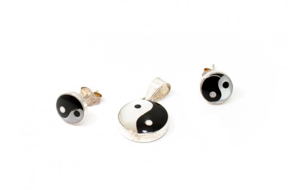 Set Yin si Yang Sidef si Argint 0