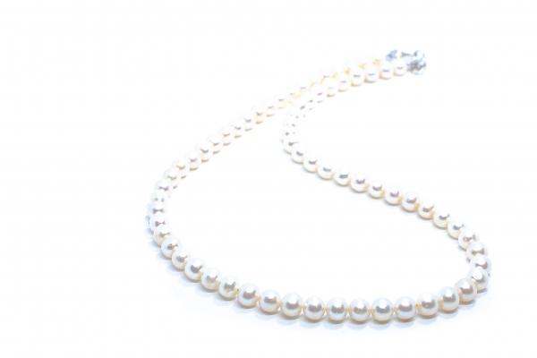 Colier Creatie cu Perla de Cultura si Argint 0