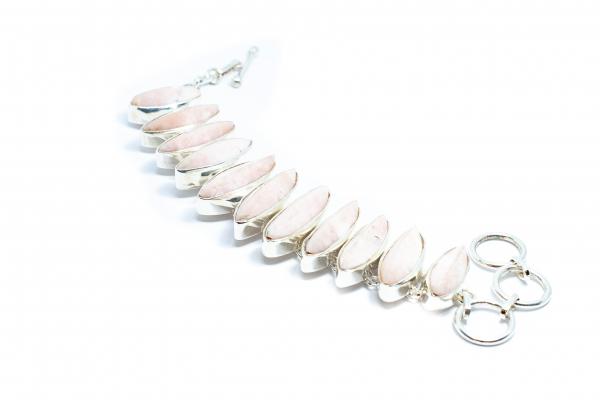 Lant si Cercei din Argint cu Opal Brut [1]