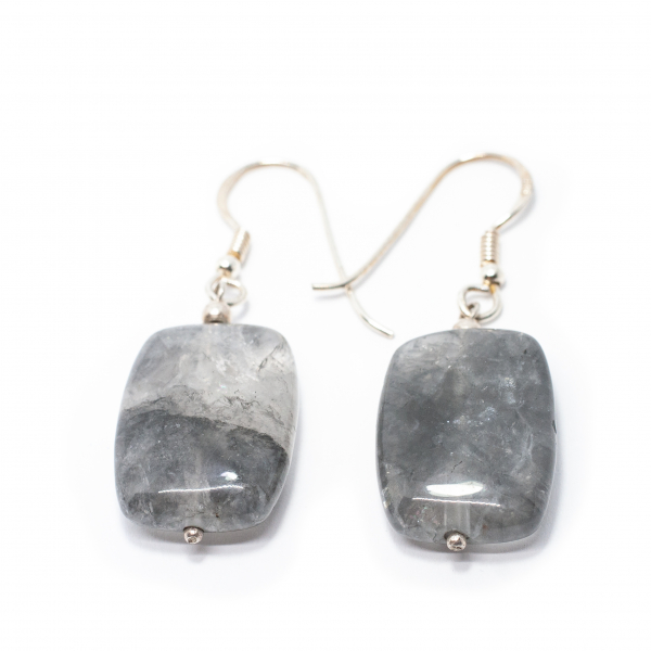 Cercei din Argint si Cuart 1
