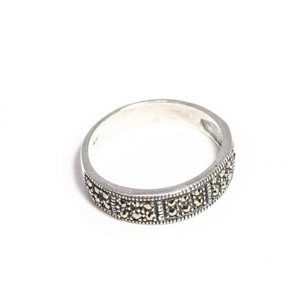 Inel din Argint cu Marcasite 1