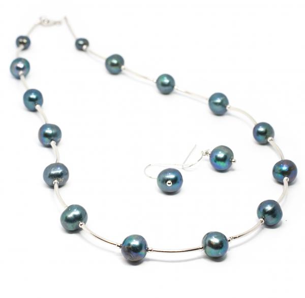 Set Creatie cu Perle de Cultura si Argint [0]