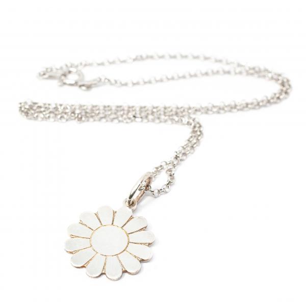 Lant cu Pandantiv Floare din Argint 0