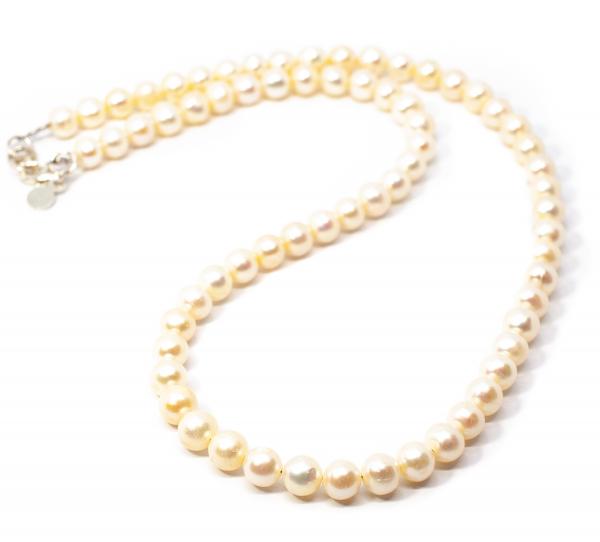 Colier Creatie din Perla de Cultura cu Argint [0]