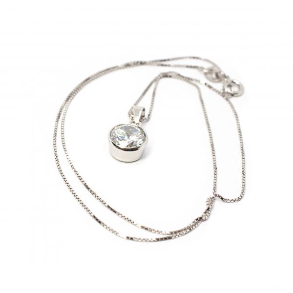 Lanț din Argint cu Zirconiu [0]