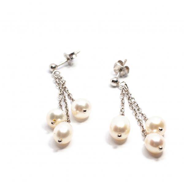 Cercei din Argint cu Perla 0