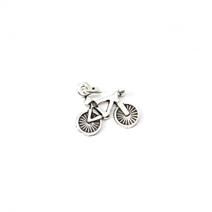 Pandantiv  din Argint Bicicleta [0]