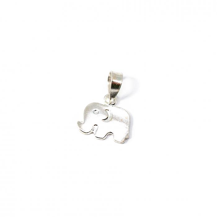 Pandantiv din Argint Elefant [0]