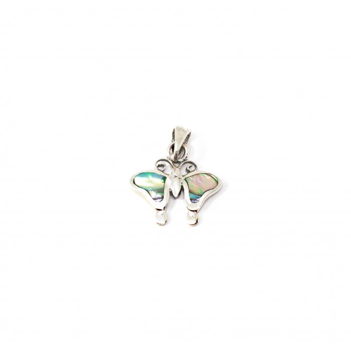 Pandantiv Fluturas din Argint cu Email [1]