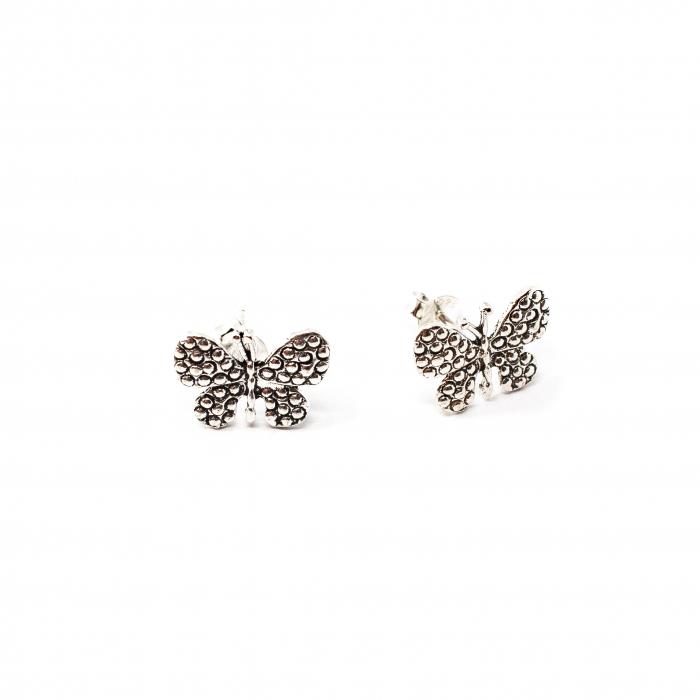 Cercei din Argint Fluture [0]