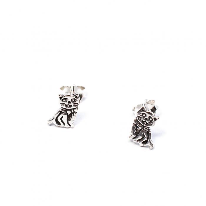Cercei Pisica din Argint [0]