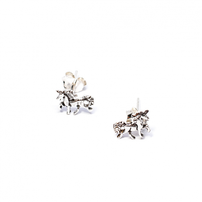 Cercei din Argint Unicorn 0