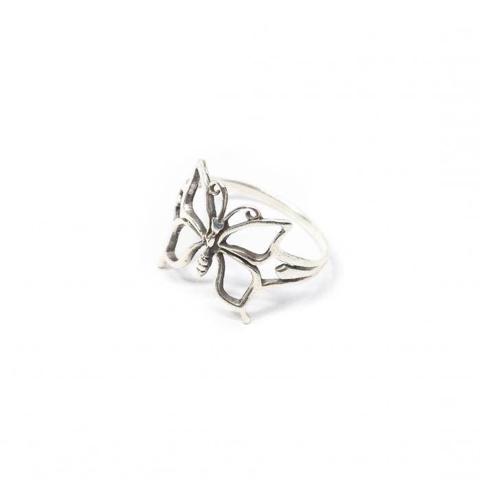 Inel din Argint Fluture 0